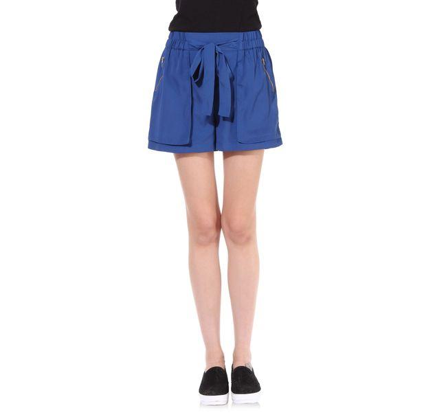 Women Blue Shorts