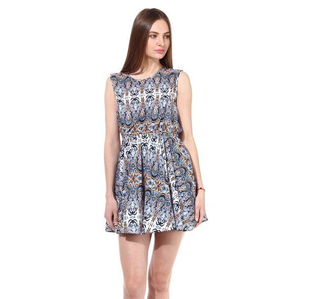 Women Printed Gap Dress