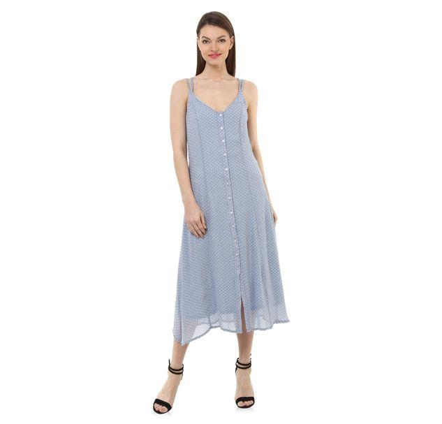 Women Blue Shift Dress
