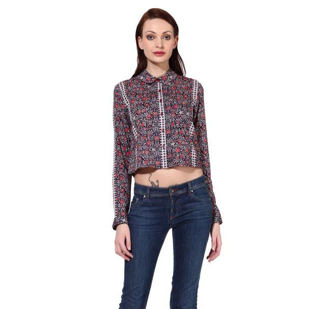 Women Crop Shirt