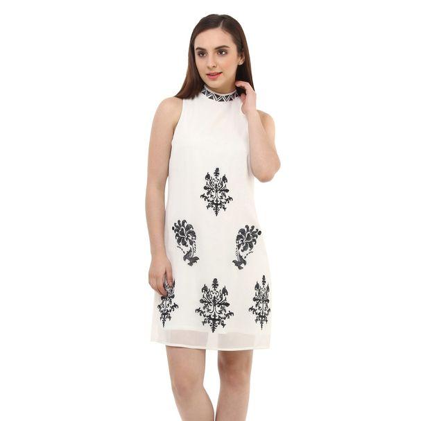 Women Stylish Embroidered Dress