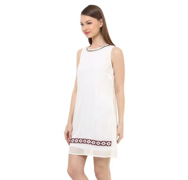 Women Party White Dress