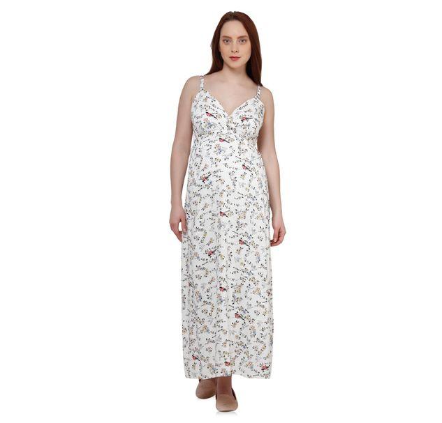 Maternity Designer Maxi Dress