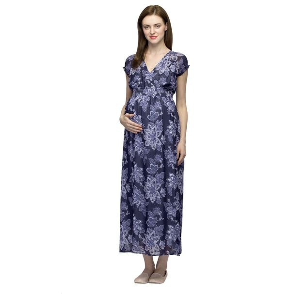 Maternity Maxi Stylish Dress