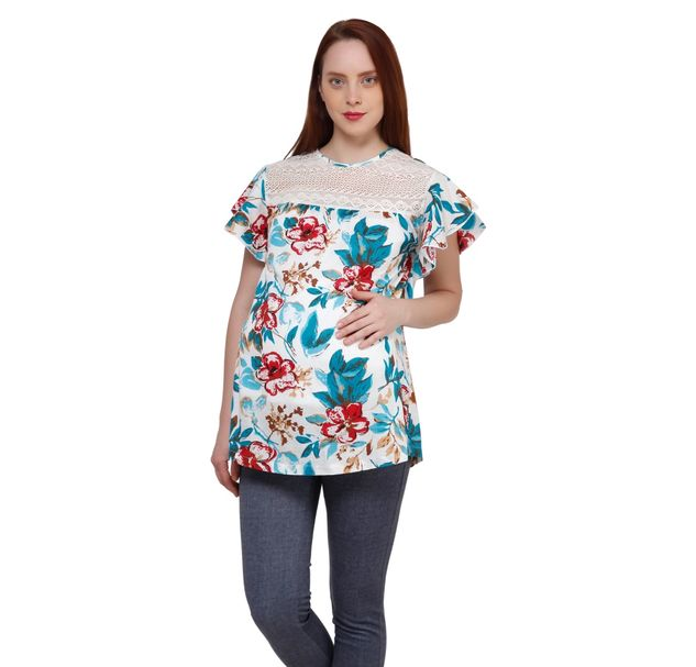Maternity Multi Cotton Top