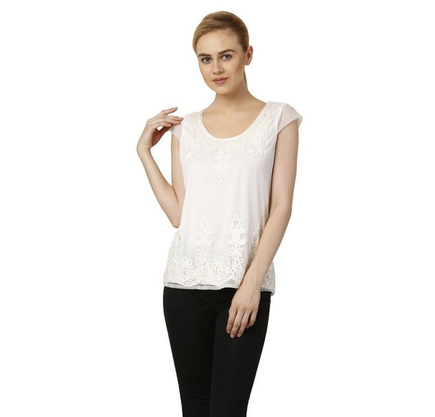 Women Embroidered Summer Top