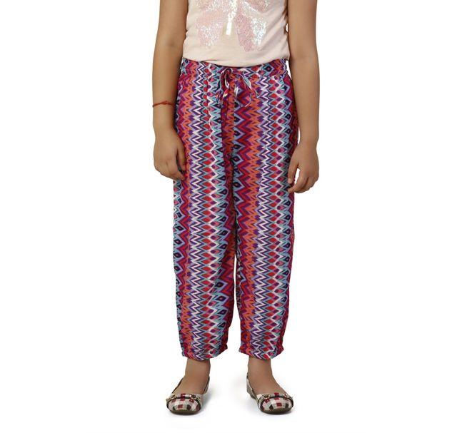 Girls Tribal Print Pants