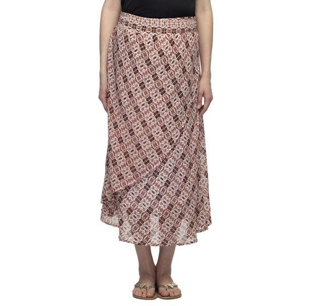 Maternity Printed Skirt