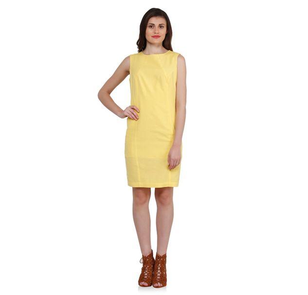 Women Shift Linen Dress
