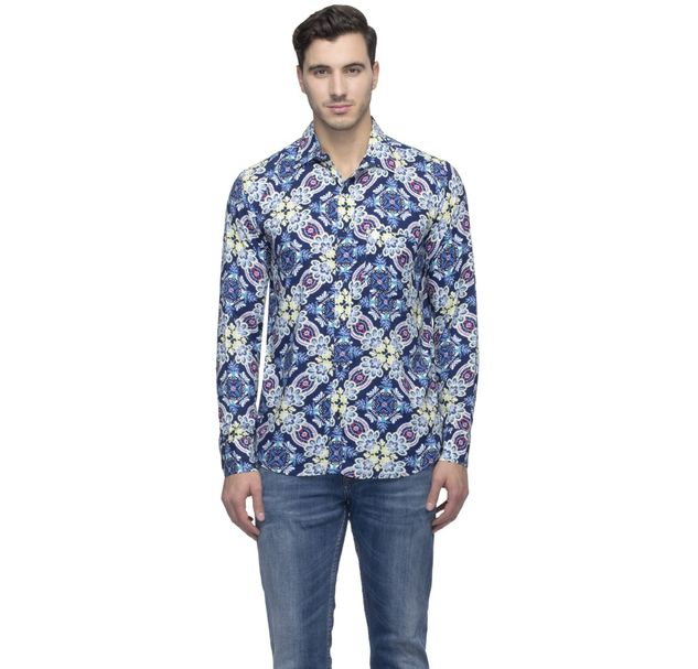 Men Trendy Floral Shirt