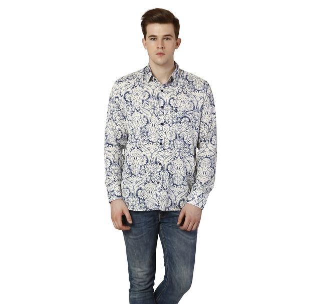 Men Floral Stylish Shirt