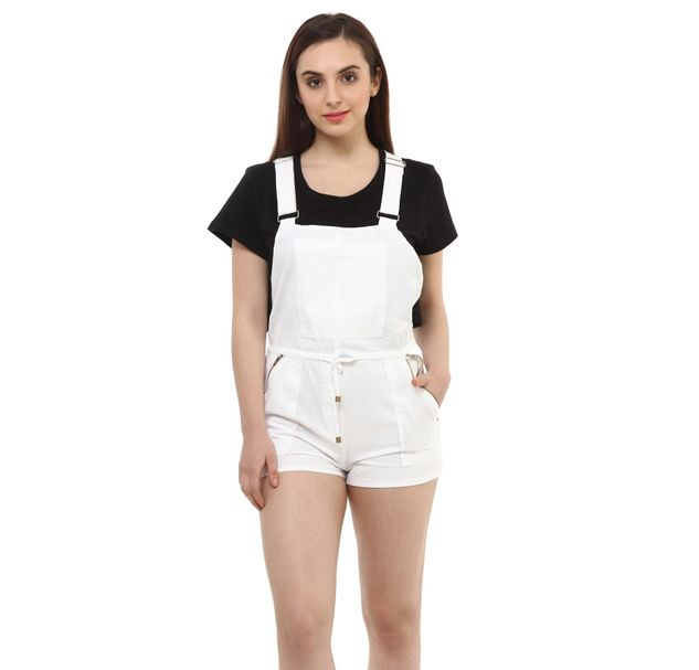 Women Cotton Dungaree