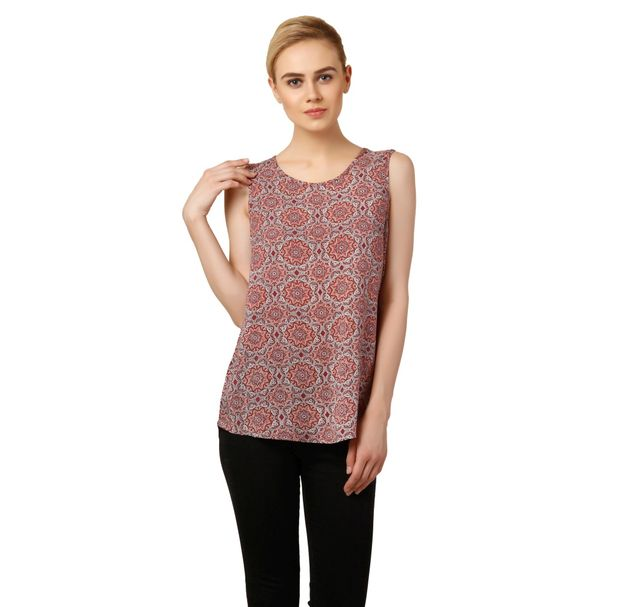 Women floral casual top