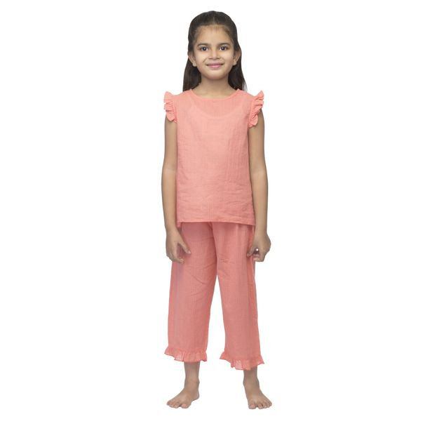 Girls Cotton Nightwear Set