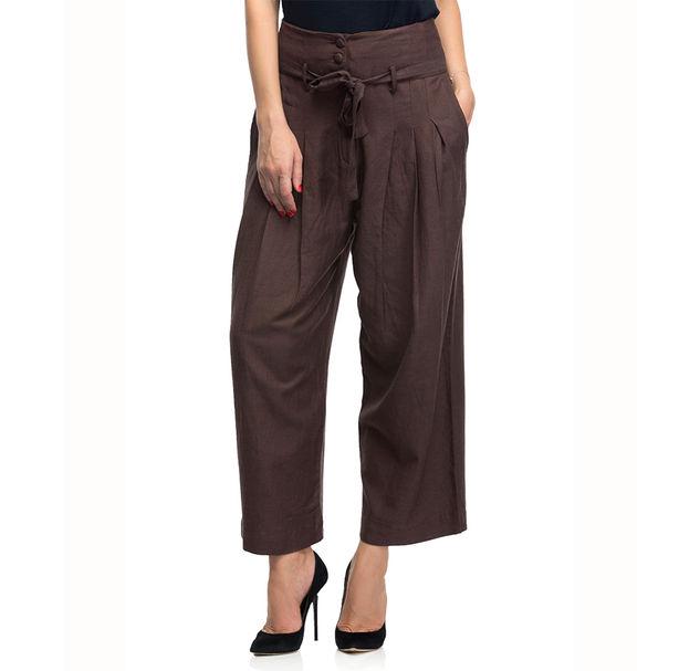 Women Brown Pants