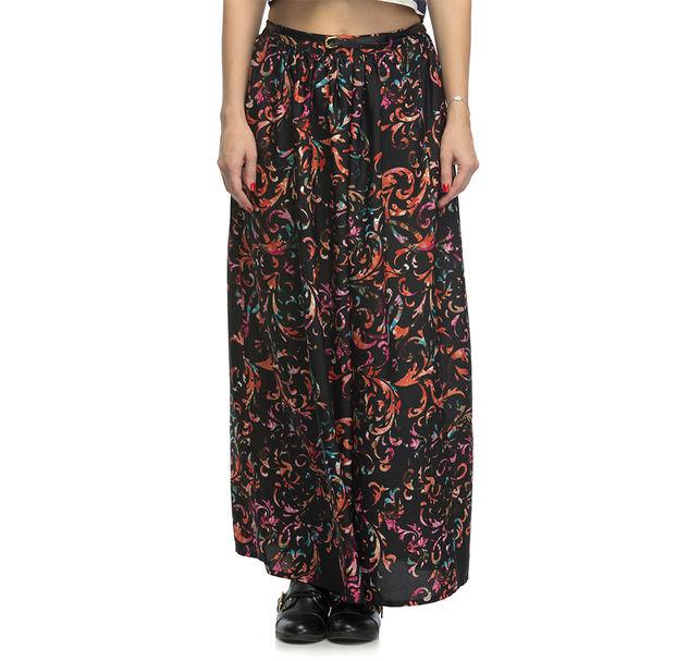Women Printed Long Skirt