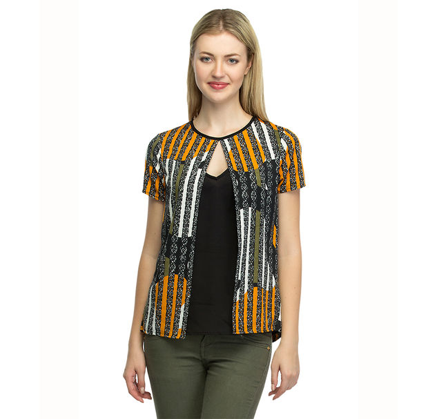 Women Striped Top