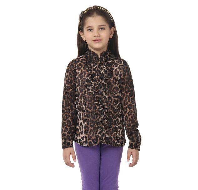 Girl Animal Print Shirt