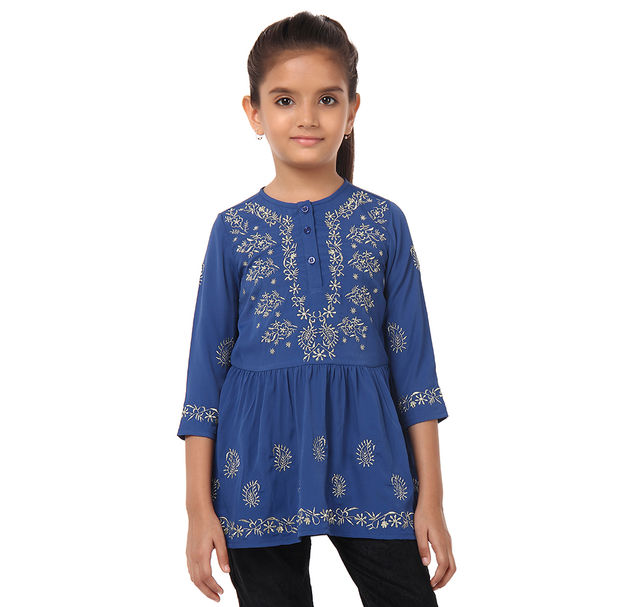 Girl Embroidered Tunic