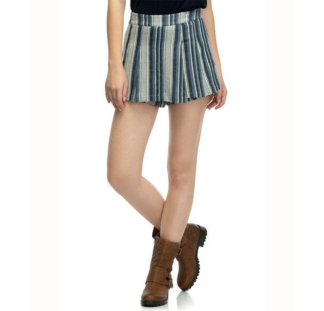 Women Striped Shorts