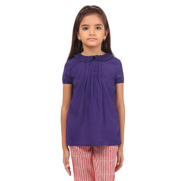 Girl Purple Top