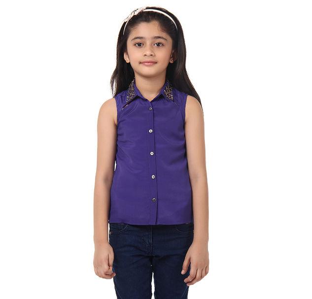 Girl Purple Party Shirt