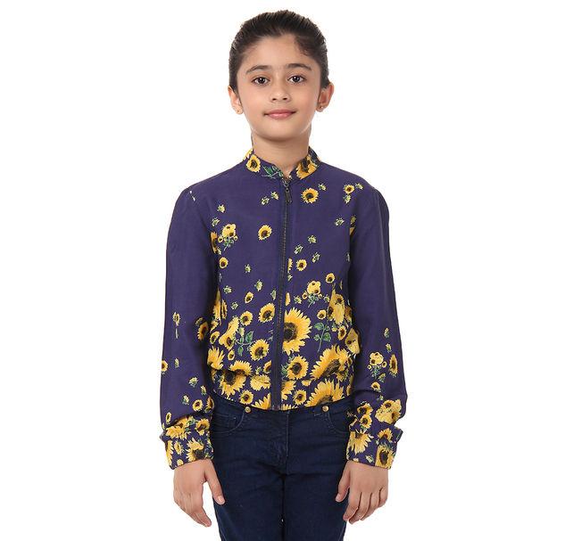 Girl Floral Jacket