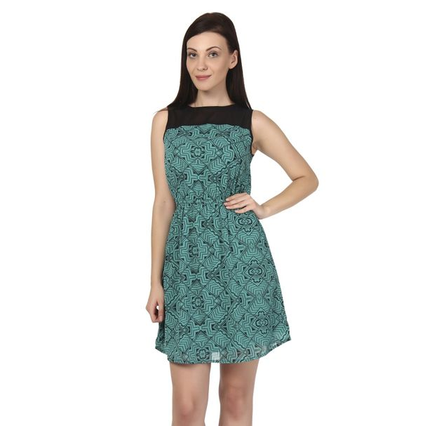 Women Green Dress
