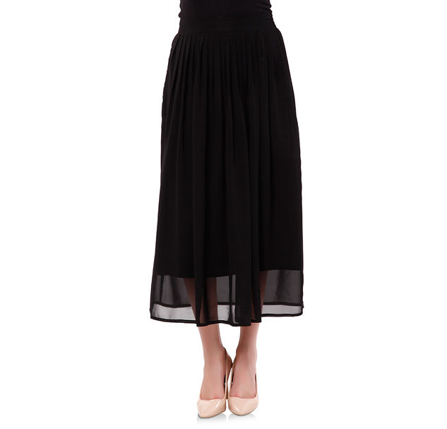 Women Black Skirt