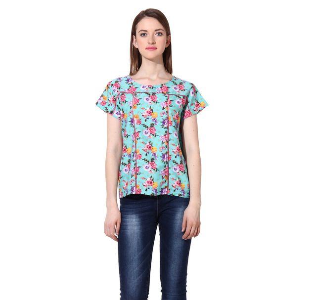 Women Multi Floral Top