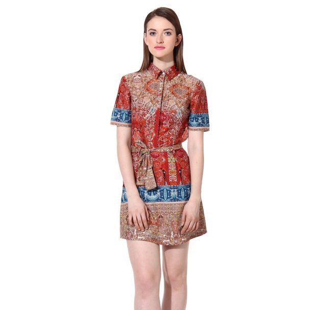 Women Collar Dress