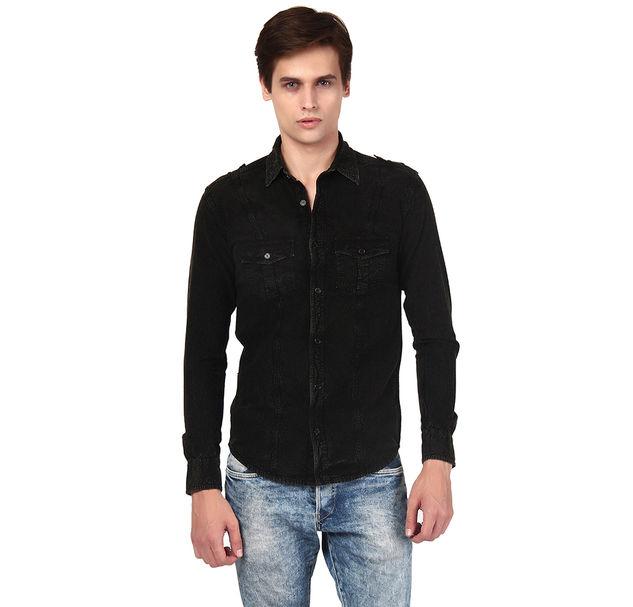 Men Black Shirt