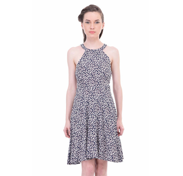 Women Printed A-Line Dress