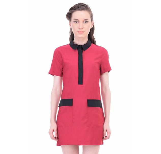 Women Pink Shift Dress