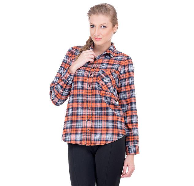 Women cotton embellished shirt
