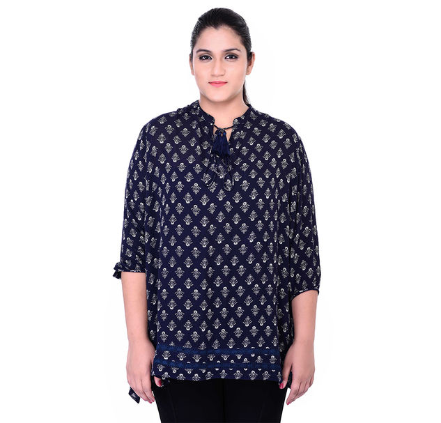 Plus Size Smart Tunic