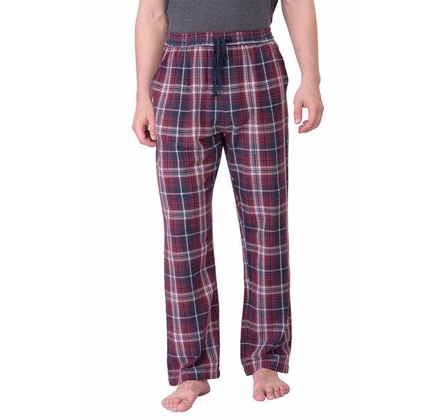 Men check cotton multi pyjamas