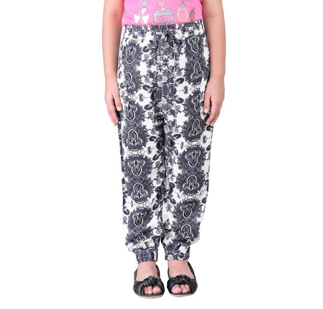 Girls printed floral pants