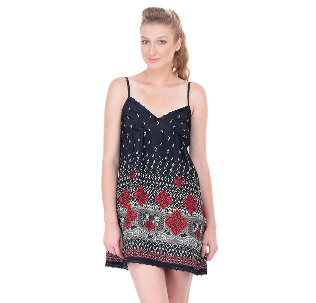 Women printed night dress