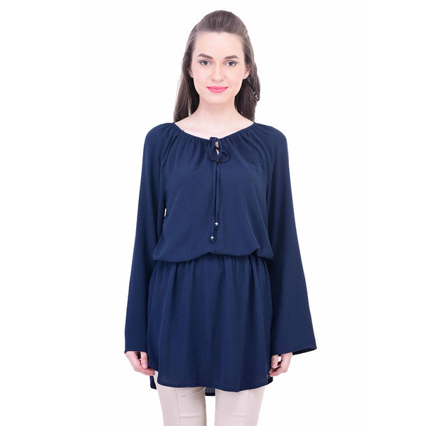 Women Dark Blue Tunic