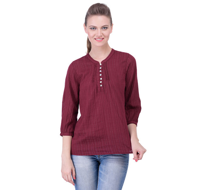 Regular Cotton Red Top