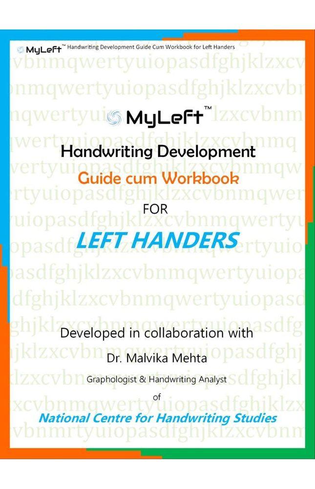 Handwriting Development Guide cum Workbook for Left Handers