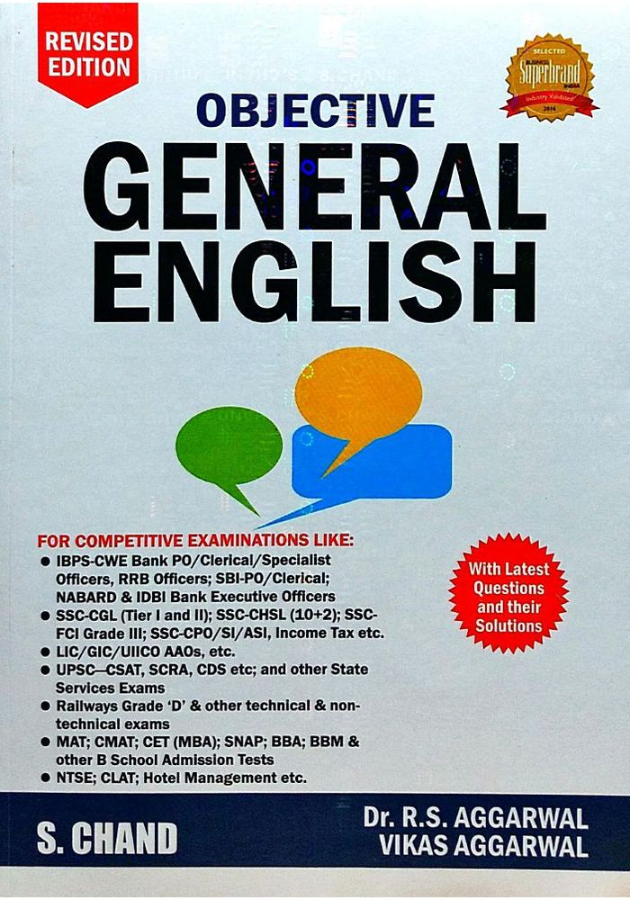 General English Book By Rs Aggarwal