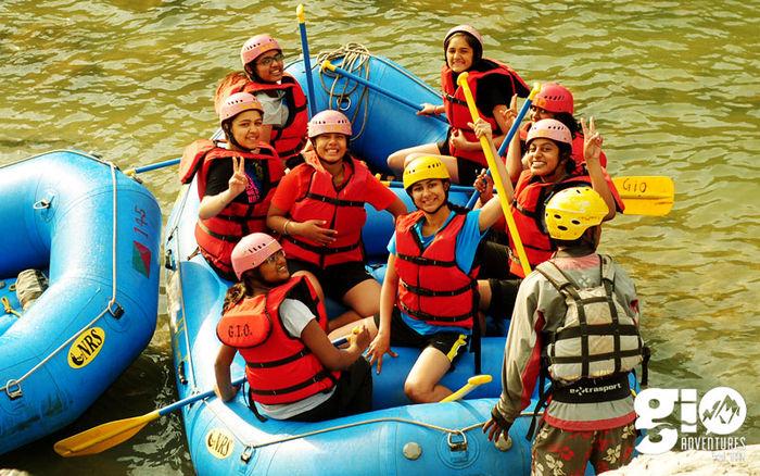 Alaknanda Rafting (3 Days) for Women