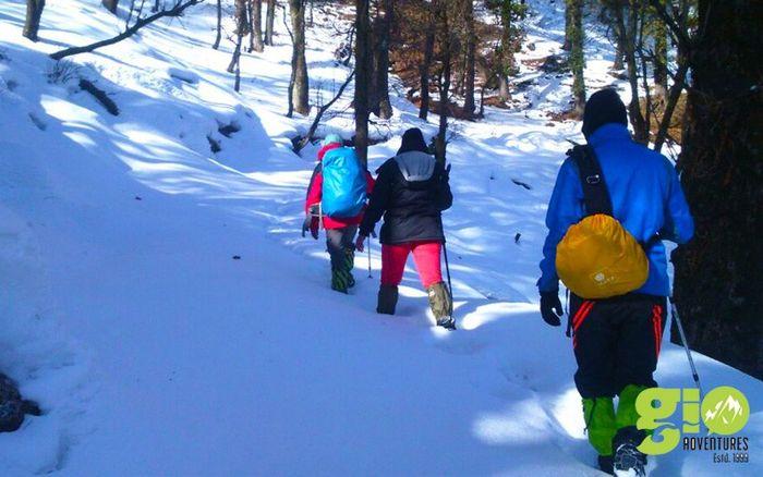 Snow  Trek: Dodital & Darwa Pass