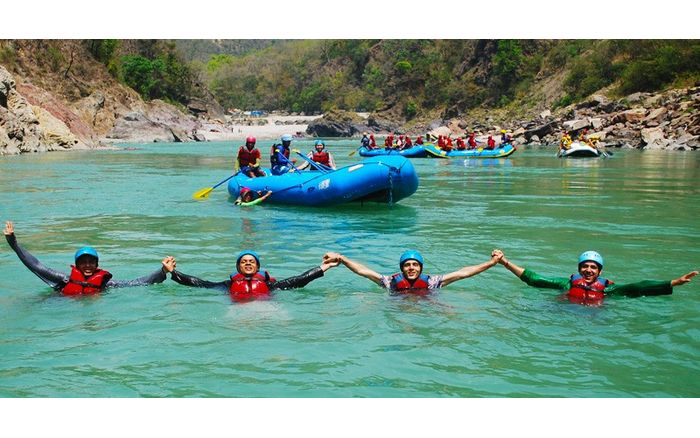 Family Rafting on Alaknanda + Deluxe Camping (3 Days)