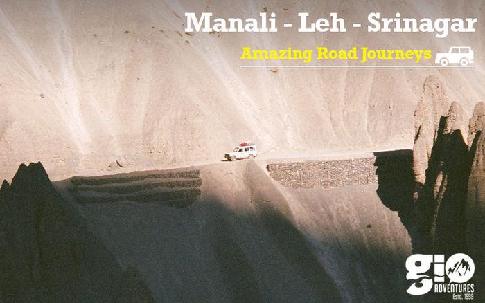Amazing Road Trips  :  Manali - Leh - Srinagar for Women