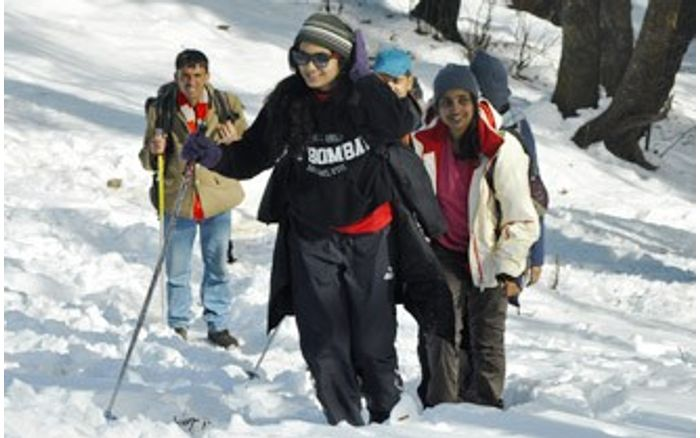 Snow Trek to  Kedarkantha for Women
