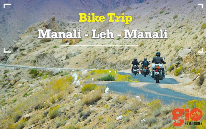 Motor Biking Trip : Manali-Leh- Manali