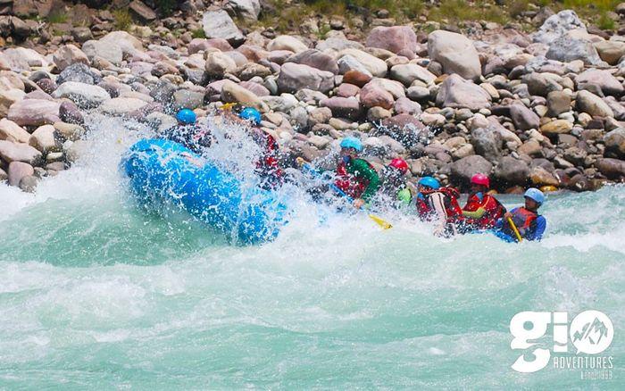 Combo Rafting from Beasghat - Ganga + Alaknanda